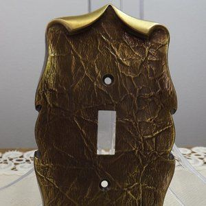 Vintage Amerock Single Outlet Switch Plate Cover